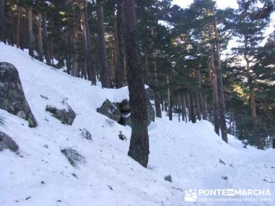 Camino Schmidt - Sierra de Guadarrama; programa de actividades; senderismo vip